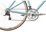 Creme Echo Solo Mixte Stadsfiets Dames 16-speed blauw